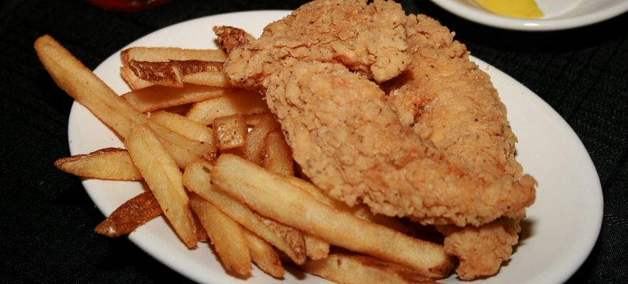 Golden Fried Chicken Tenders