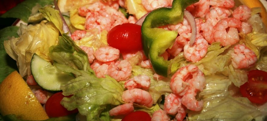 The Dockside Shrimp Salad
